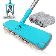 olire microfiber mop laminate floor cleaner dust mop for wood floors buff flat mop pads 18