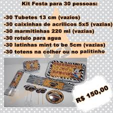 Maybe you would like to learn more about one of these? Kit Festa Para 30 Pessoas No Elo7 Atelie Bia Campos 4c0e84
