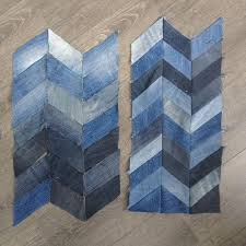 143 best denim quilt ideas images on Pinterest | Denim quilts ... & Denim pattern for upcycling. Adamdwight.com