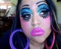 make up fails horrendous makeup fails that will leave you schless 19 pics it s always a good idea