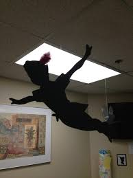 Peter Pan shadow cutout