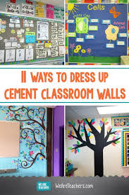 Hang The Charts On The Wall How Teachers Can Conquer Their Cement Classroom Walls