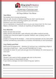 Medical Practice Relocation Checklist Microsoft Word Moving Template