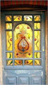 stained glass decals front doors with stained glass a luxury glass decals front door stained glass