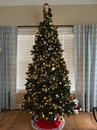 Opulent Home Accents Christmas Tree Charming Holiday 7 5 Ft Pre Holiday Home Accents Christmas Tree