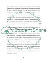 Australia Essay Social Inequality In Australia Essay Example Topics And