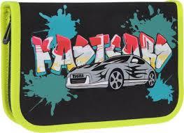 <b>Пенал Tiger Enterprise Graffiti</b> Car 1705 E/A/TG — купить недорого ...