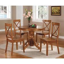 home styles 5 piece oak dining set