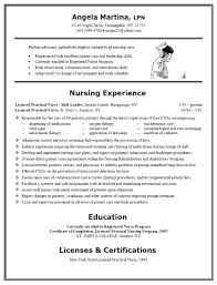 Lpn Resume Sample New Graduate Resume Sample No Experience Resume