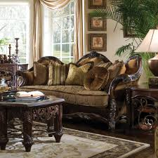 Wayfair Living Room Furniture Michael Amini Essex Manor Living Room Collection Reviews Wayfair