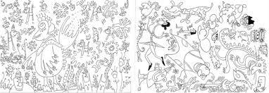 Disegni Astratti Da Colorare Per Bambin Quadri Famosi Con The
