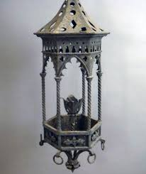 gothic lantern lighting. An Italian Wrought Iron Gothic Lantern Lighting