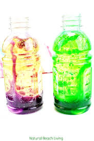 How To Make Lava Lamp Bottles Science Experiment For Kids Natural