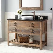 open shelf vanity.  Open 48 Intended Open Shelf Vanity Signature Hardware