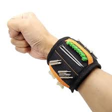 Geoeon <b>Magnetic Wristband</b> Multi-function Portable Tool Bag ...