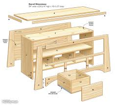 Tv Stereo Stands Cabinets Diy Tv Stand The Family Handyman