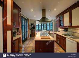 Kitchens With Terracotta Floors Terracotta Tiles Appliance Floor Stock Photos Terracotta Tiles