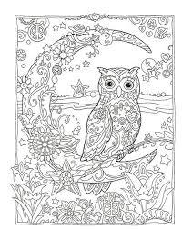 マール社出版の幸せを呼ぶ フクロウ塗り絵を大人の塗り絵情報発信