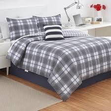 grey plaid comforter. Perfect Comforter Izod Fairfax Plaid Comforter Set For Grey