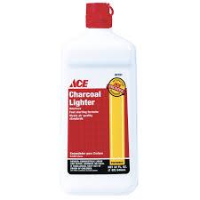 ace 32oz charcoal lighter fluid lighters hardware