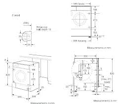 Washer And Dryer Sizes Chart Dimensions Of A Washer And Dryer Avalonit Net