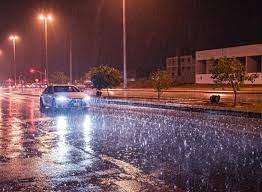 أخبار 24   شاهد.. أمطار غزيرة على الرياض والمحافظات التابعة لها تتسبب في  جريان السيول