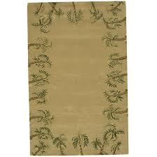 green and tan area rugs