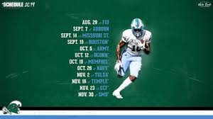Visit espn to view the navy midshipmen team schedule for the current and previous seasons. Tulane Announces 2019 Football Schedule Tulane University Athletics