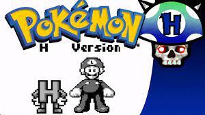 Pokemon H Version: TheLetterH