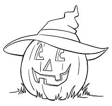 Pagine Da Colorare Per Bambini Sul Tema Di Halloween 100 Immagini