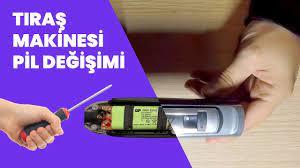 Şarjlı Tıraş Makinesi Pil Değişimi (Diy) - YouTube