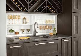 kitchen cabinets fresno ca wet bar wine storage by kraftmaid cabinetry