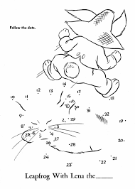Easter Dot To Dot Coloring Activity Pages Kids Pete Cottontail