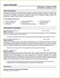 ... Example Office Coordinator Resume - Free Sample administrative resume  ...