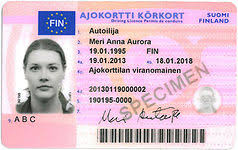 European Licence - Wikipedia Driving