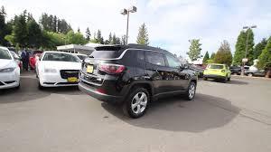 2018 jeep black. delighful jeep 2018 jeep compass latitude  diamond black crystal jt124168 redmond  seattle with jeep black