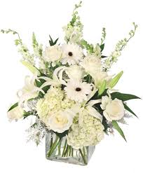 pure elegance vase arrangement