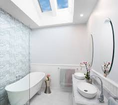 2x Solar Skylight in Bathroom