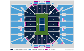 New Louis Armstrong Stadium Seating Chart Tickets Second Round Mens Womens Flushing Ny At