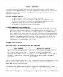 sample thesis statement examples in word pdf introductory paragraph thesis statement