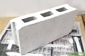 how to paint cinder blocks 13 steps