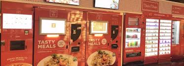Vending Machine Restaurant Singapore Simple ChefinBox Is Opening Its First Truly Central Vending Machine Cafe