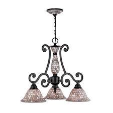 classic lighting pearl river 3 light chandelier