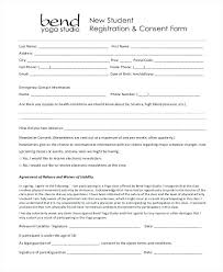 Permission Slip Forms Template Student Consent Form Template Permission Slip Templates On D