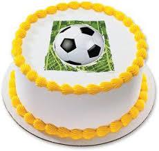 Edible Soccer Ball Cake Decorations Basketball Quarter Sheet Edible Cake Topper Wholesale Party Supplies 75