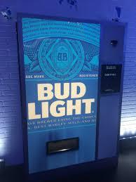 Bud Light Vending Machine Custom Bud Light's Taste Of America Concept Store The Film Ninja