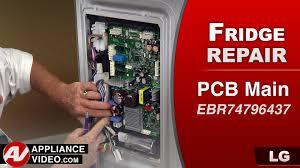 lg refrigerator control board. lg refrigerator - pcb main control circuit board not cooling repair \u0026 diagnostic youtube lg