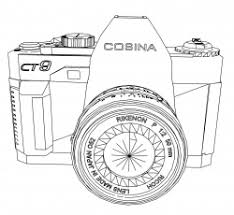 Small Picture Digital Camera Coloring Page Kids Coloring Page Coloring Home