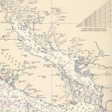 Burrard Inlet Depth Chart Desolation Sound