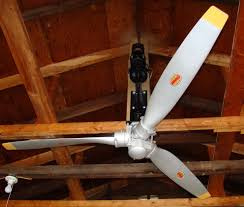 architecture vintage airplane propeller ceiling fan amazing style with light 13 from vintage airplane propeller